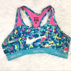 Nike Pro Womens Large Bathing Suit Top Size L